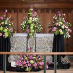 Wilson & Co Sponsor Floral Arrangement at St John's Church Festival of Flowers